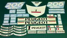 Peugeot Speedfight 2 206 WRC decal set graphics stickers restoration scooter 50