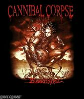 CANNIBAL CORPSE cd cvr BLOODTHIRST Official Black SHIRT XL New 1988 death metal