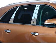 QAA PP16821 For Kia Sorento 2016-2020 Stainless Steel Chrome Pillar Post Set 6Pc