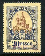 Budapest, Hungary Municipal Rev - Documentary - 1927 - Barefoot #130B - 20 P