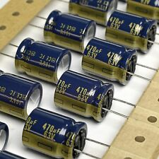 20x Authentic PANASONIC FC 470uF 63V 105ºC Electrolytic Capacitors . UFC