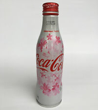 Japan Sakura Season Coca Cola Aluminium Empty Bottle 2017 Collectible Home Decor