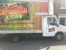 Catering mobile food van