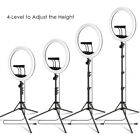 18 LED ring light supports stepless brightness dimming or Adjustable Tripod picture