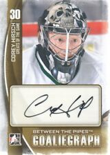 2013-14 ITG Between the Pipes Autograph #A-CHI2 Corey Hirsch Auto Dallas Stars