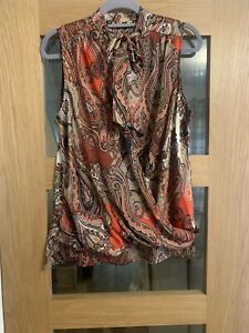Ladies River Island Blouse Top Size 14