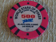 RIO ALL-SUITE CASINO WORLD STARS OF POKER 500 NCV hotel gaming poker chip