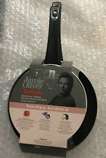 Tefal Jamie Oliver 2Pc Aluminium Non-Stick Coated Frying Pan Set -New