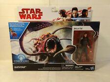 Star Wars Force Link Rathtar and Bala-tik Figure Set Hasbro 2017