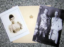 Elizabeth, Queen Mother -  to Xenia of Russia - PERSONAL Hand Signed Xmas Card