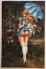 Call of Wonderland # 3 BlueRainbow #500 Zenescope Exclusive Alice Nm Grimm Fairy