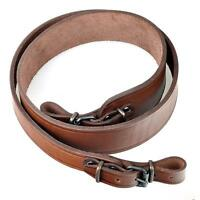 Leather Shotgun Rifle Sling Strap Bindings Shoulder Shooting Solid Hunting New