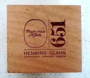 Piet Hein - Super Egg  / Ei  / Kunstobjekt  / Bronze / in originaler Verpackung