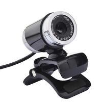 USB 12MP HD Webcam Web Kamera mit Mikrofon für Laptop Desktop PC Klemme