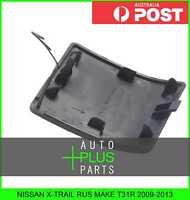 Fits NISSAN X-TRAIL RUS MAKE T31R 2009-2013 - Tow Hook Bumper Cover Plastic