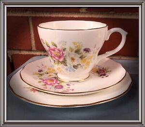 Duchess Bone China cup saucer plate trios