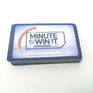 2011 Minute to Win It Replacement Parts Pieces-Complete Set 40 Challenge Cards