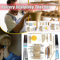 DIY Pottery Sculpting Carving Modelling Tools Set Clay Sculpture Ceramic Craft