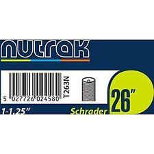 Nutrak 26 X 1 - 1.25 Inch Schrader Cylce Bike Inner Tube
