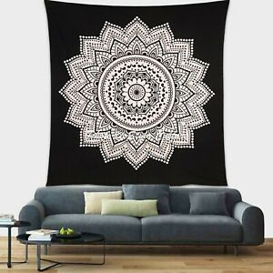 Indian Hippie Queen/Double/Twin Wall Hanging Floral Bedding Tapestry Throw