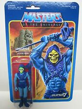 2016 EXCLUSIVE SUPER 7 MOTU MASTERS OF UNIVERSE SKELETOR ACTION FIGURE COLOR