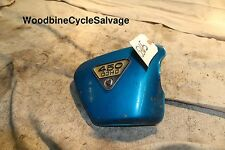 SC-59-  Honda 450 DOHC Metal Side Cover with Emblem- Right Side