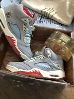 Nike Air Jordan 5 Trophy Room Ice Blue Size UK 7.5