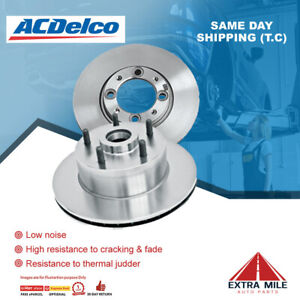 ACDelco Front Rotor Pair For HOLDEN BARINA TM 1.4T, 1.6L 11/2011 - 6/2014