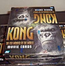 2005 KING KONG CARDS BOX 24 PKS NEW