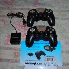 LOTTO STOCK 2 JOYSTICK JOYPAD GAMEPAD WIRELESS USB MEDIACOM ME-GP300