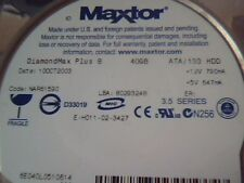 Hard Drive IDE Maxtor E-H011-02-3427 DiamondMax Plus 8 40GB NAR61590 80293248
