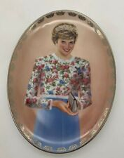 "Lady Diana Queen of Our Hearts ""A True Princess"" Bradford Plate with Coa"
