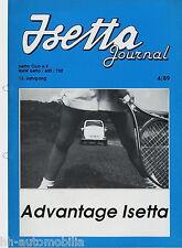 BMW Isetta Journal 4/89 1989 Rahmen Lack auf Zink Zittau Kleinwagen Zylinder