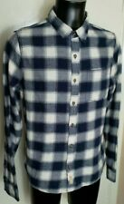 Hollister Blue And White Check Shirt 42 Chest