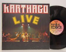 Karthago          Live         Bellaphon         NM  # 61