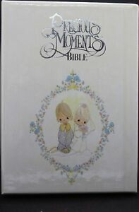 Holy Bible Precious Moments Nelson King James Version Wedding Edition Padded Cvr