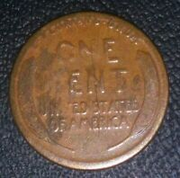 "1911 S **MAJOR ERROR** Wheat Penny (Red) ""ULTRA RARE"" *Collectors Check it OUT*"