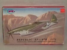 MPM 1/72 Scale Republic XP-47H