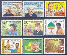Jahr der Jugend - Afrika - 9 Werte ** MNH 1985