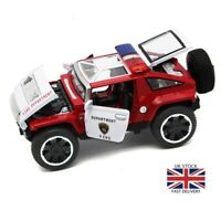 1:32 HX Alloy Model Cars Off Road SUV Police Vehicles Diecast Toys Kids Gift