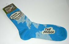 Blue Q  Look Within The Fridge Crew Socks Men's Shoe Size 7-12 New