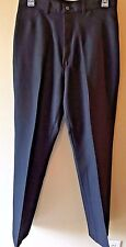 Vintage Sheplers Black Western Wrinkle Free Polyester Pants size 14 30x32 Usa P4