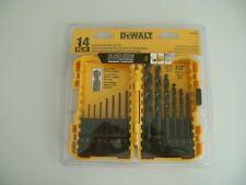 DeWalt 14Pc Black Oxide Drill Bit Set