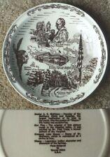 Vernon Kilns Historic Excelsior Springs Missouri collector plate #2~NR