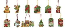 NEW!! 2012 Dimensions SUSAN WINGET Counted Cross Stitch Ornaments Kits 12 Styles