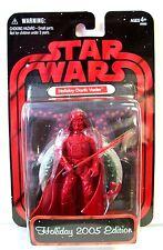 Darth Vader Holiday Edition Action Figure/Star Wars/2005 Hasbro Toys