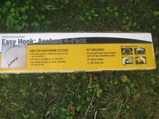 4 X Erdanker Bodenanker Sturmanker für Garage Weidezelt Unterstände aller Art