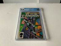 PUNISHER 1 CGC 9.8 WHITE PAGES KLAUS JANSON MARVEL COMICS 1987