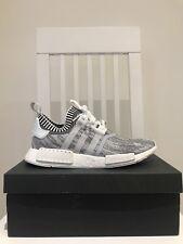 Adidas NMD_R1 PK BIANCO Glitch Camo/OREO Boost-Dead Stock in una taglia UK 9
