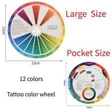 Artists Colour Wheel Mixing Colour Guide 23cm+14cm Large & Pocket Two Size